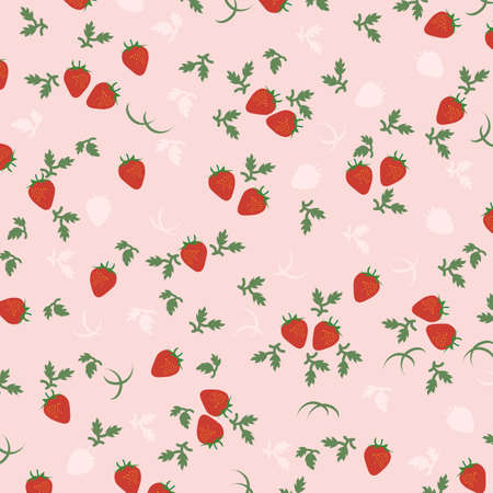 layout strawberry: strawberry background