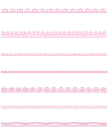 straight lace Stock Vector - 11448910