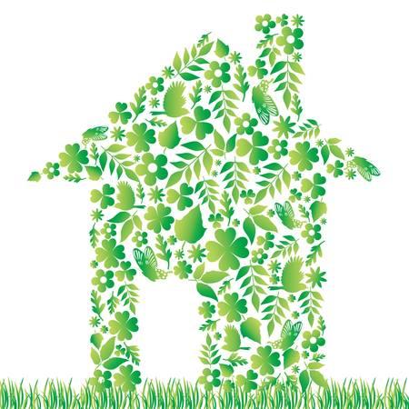bird house: eco house