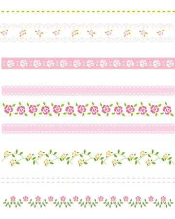 rose rose line Vector