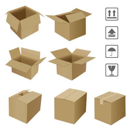 corrugated: corrugated box
