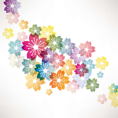 cerisier fleur: fond fleur de cerisier
