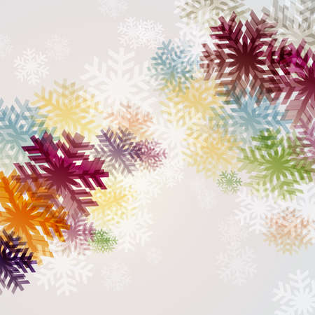 abstract background with colorful crystal Vector