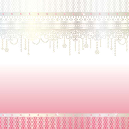 jewelry and lace background Vectores