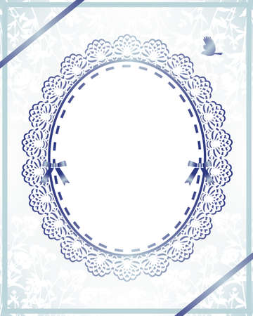 bridal frame Vector