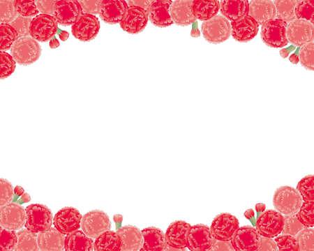 carnation background Illustration