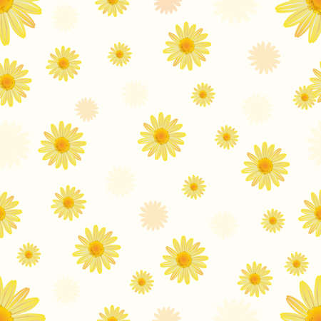 daisy background Vectores