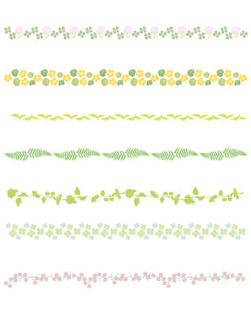 leaf line: green line set
