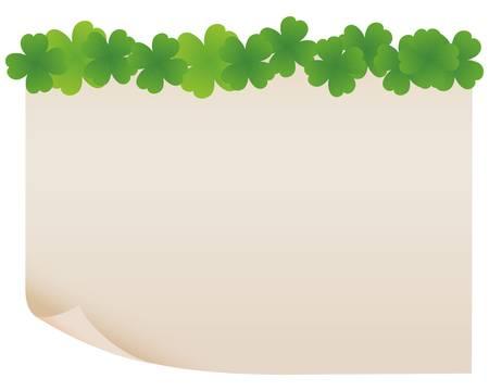 녹색 종이 프레임