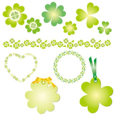 clover set Vector