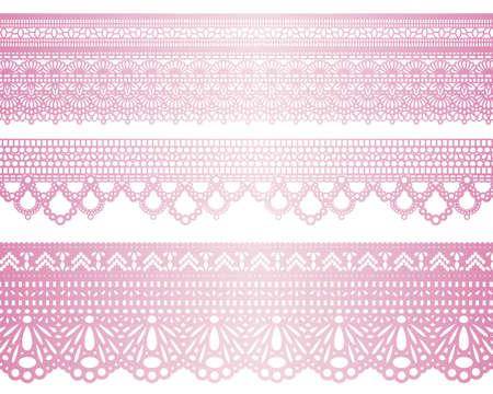 purple ribbon: special lace