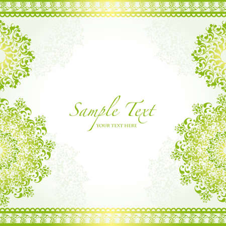 soft: green abstract background Illustration