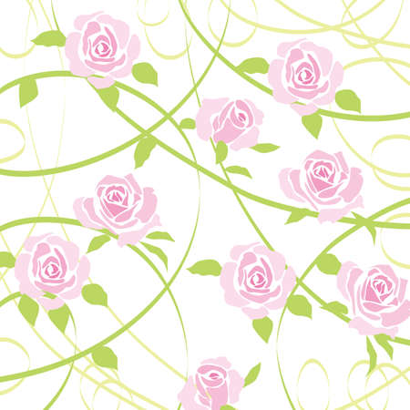 rose background Stock Vector - 11649119