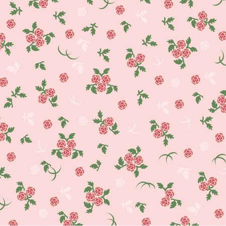배경 핑크 장미