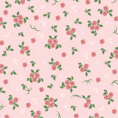 rose background pink Stock Vector - 11649125