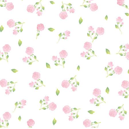 tła rose Ilustracje wektorowe