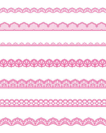 straight lace Vector