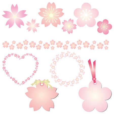 fleur de cerisier: jeu de ressorts