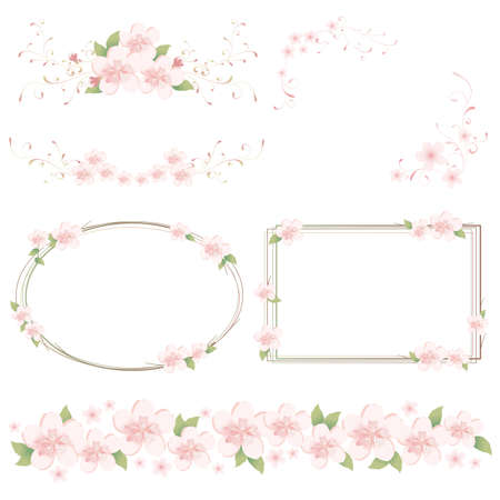 spring set Stock Vector - 11812287