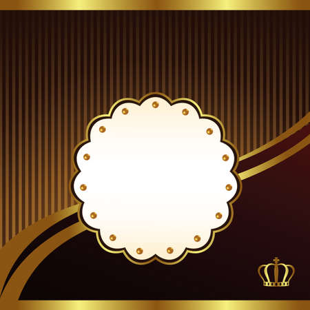 vintage background card Stock Vector - 11882681