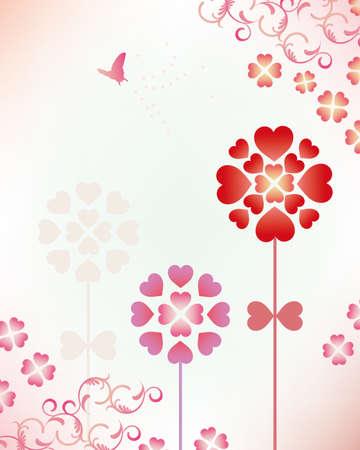 heart flower Stock Vector - 11882747