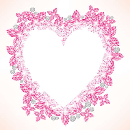 love image: heart frame
