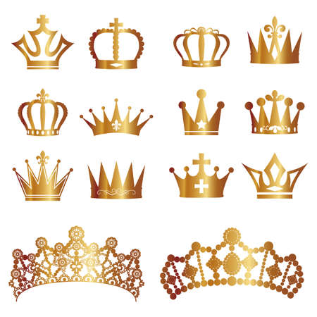 royal crown: crown set