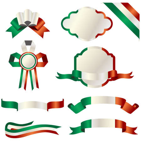 set of italy Stock Vector - 11882701