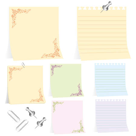 note set Stock Vector - 11882713