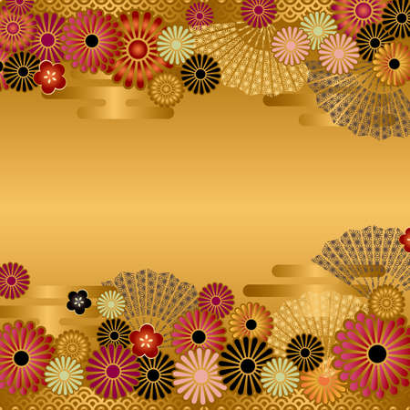japanese pattern: asian background