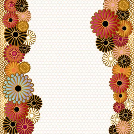 crisantemos: origen asi�tico