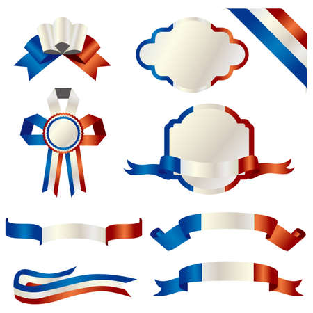 set of france Stock Vector - 11991270
