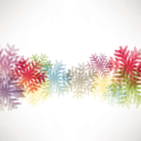 crystallization: abstract background with colorful crystal Illustration