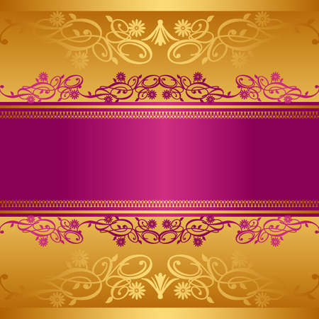 grace: abstract background gold Illustration