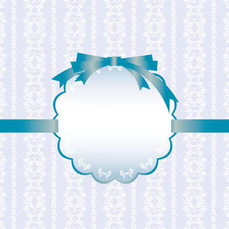 abstract background card blue Vector