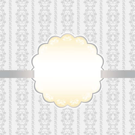 abstract background card silver Vector