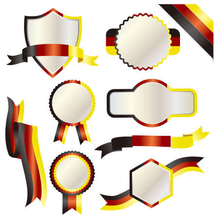 set of germany Vector