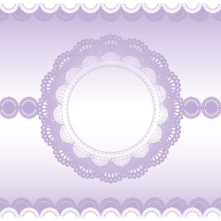lace classical card