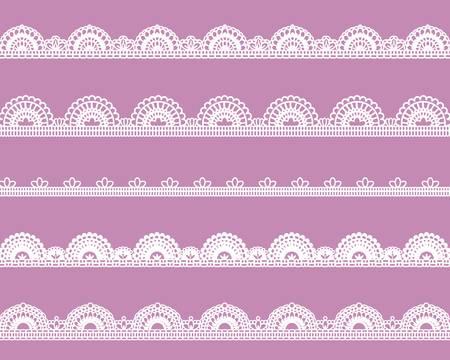 sweet lace  イラスト・ベクター素材