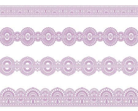 sweet lace Vector