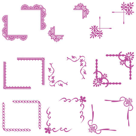 simple frame set Stock Vector - 12054529