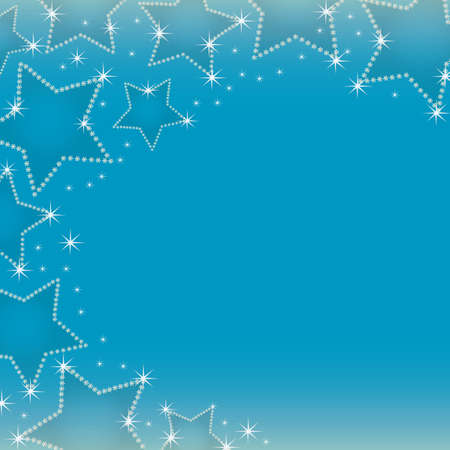 crystal star background Vector