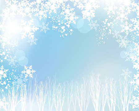 crystallization: crystal and tree background