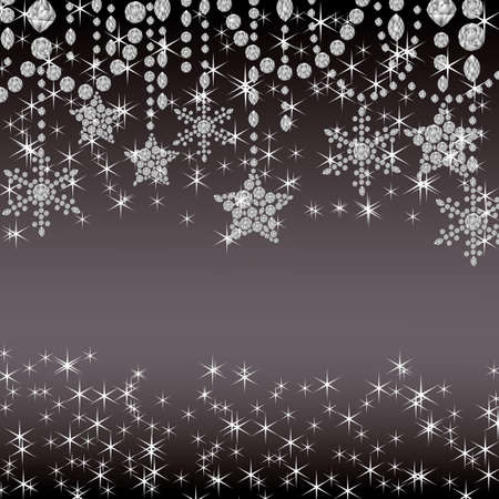starlight: jewelry decoration background