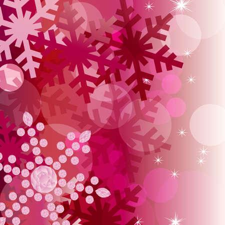 diamond clip art: crystal decoration background red