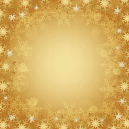 crystal background gold Vector