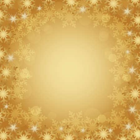 crystallization: crystal background gold