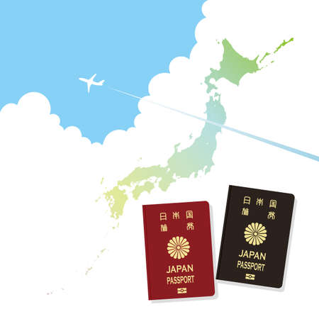 summer in japan: Japan passport