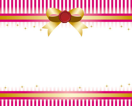 pink satin: ribbon background