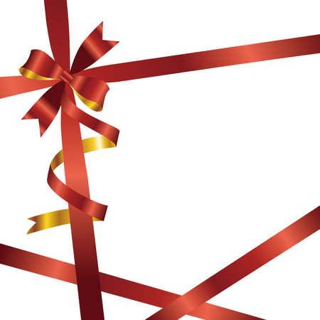 ribbon background Stock Vector - 12054405